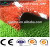 Well certificiated 30mm red running track artificial turf