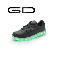 Classic mens shoe casual shoe LED sport shoe