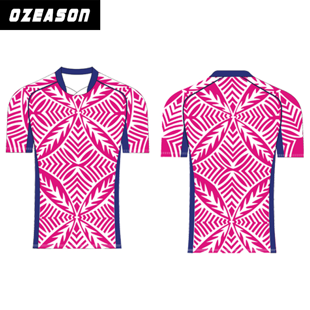 Custom sublimation women rugby jersey tight fit team set rugby jersey,rugby shorts