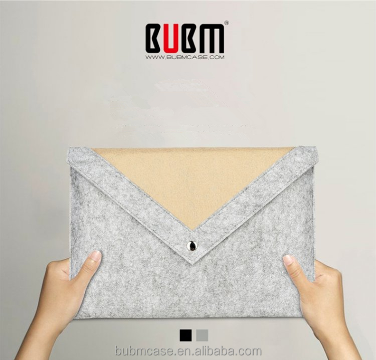 BUBM For 12 Inch Apple New MacBook Sleeve Bag Case Cover Laptop Notebook Carrying Case Bag for The New Macbook 12""