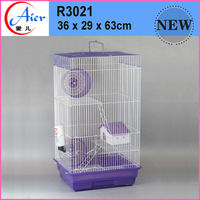 small animal supplies pink hamster cage