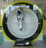 Round Acrylic Maglev Floating Shoe Display