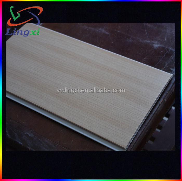 Plastic Laminate Ceiling Board / Plastic Bathroom PVC Ceiling Panels