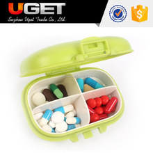 Well protect pill from damp round pill box for health