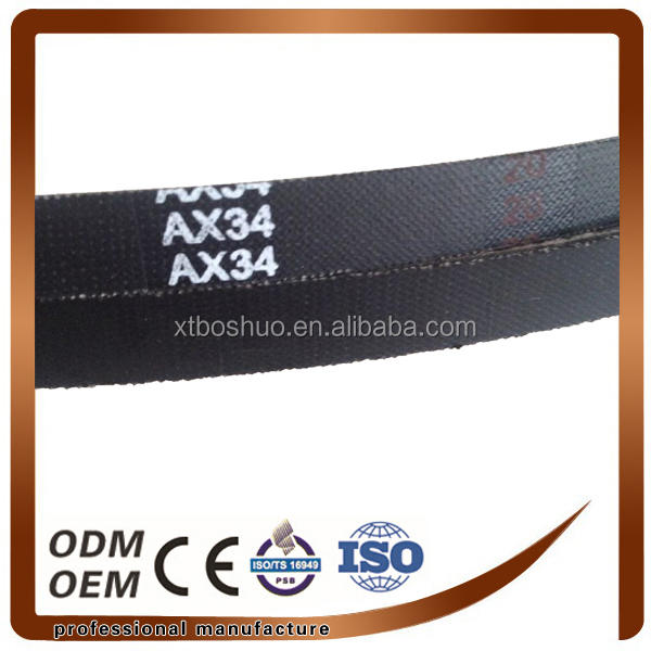 Cutting machine /Agricultural machine v belt china supplier