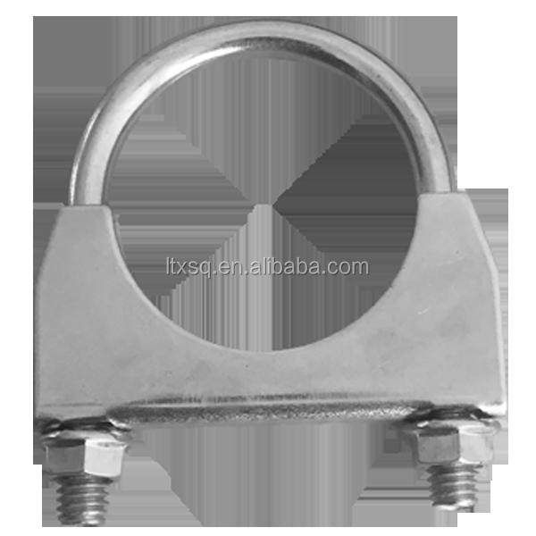 Galvanized u saddle clamp pipe bolt type