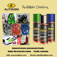 400ml/450ml fast dry peelable Plastic Dip Rubber Paint
