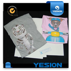 Yesion 2015 sublimation paper price for non cotton of A4