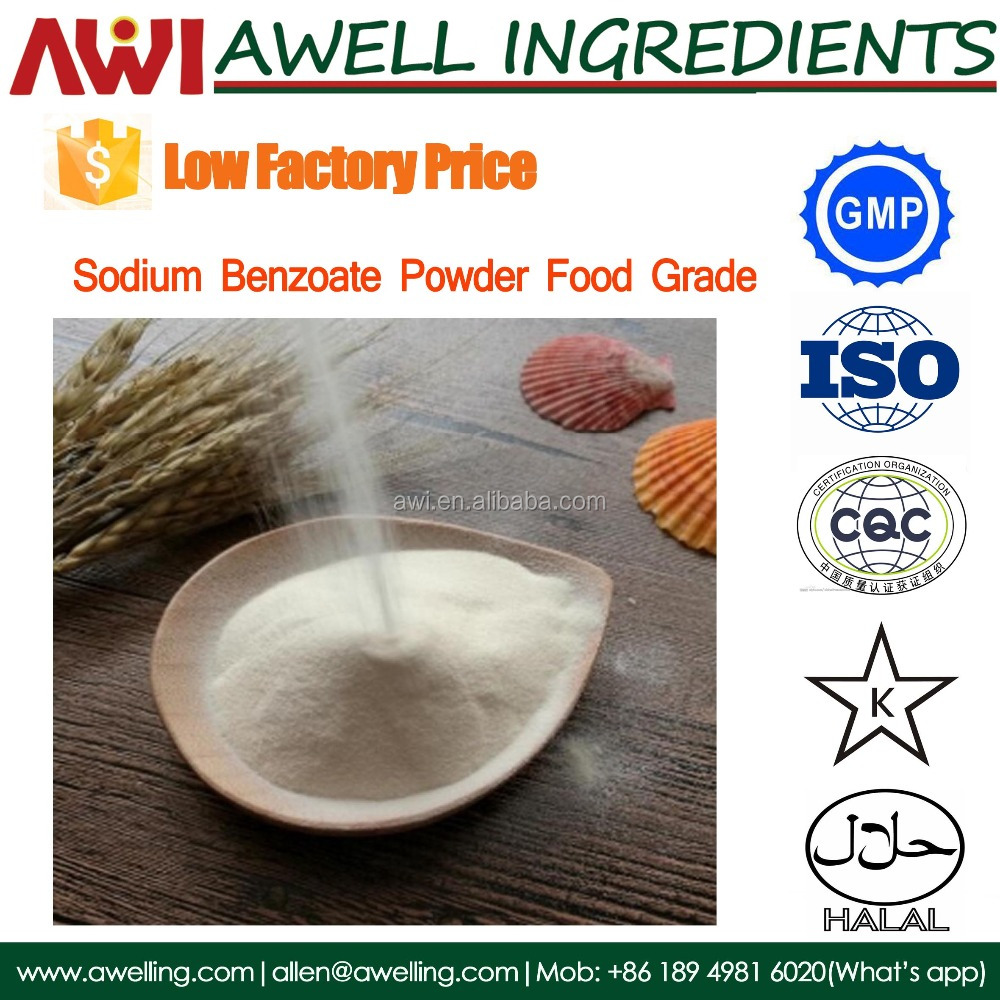 Best price of Sodium Benzoate powder Food grade