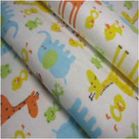100% cotton flannel bed sheet set