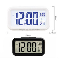 Radio Controlled atomic desktop alarm clock temperature/smart clcok