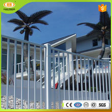 Free samples Powder and zinc coated ornamental steel fence