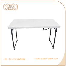 White cheap price metal legs banquet used folding tables for sale