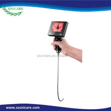Difficult airway intubation flexible portable electronic endoscope type video laryngoscope