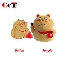 Japanese Cartoon Figure Fashion Cushion Stuffed Animals Plush Cat Toys