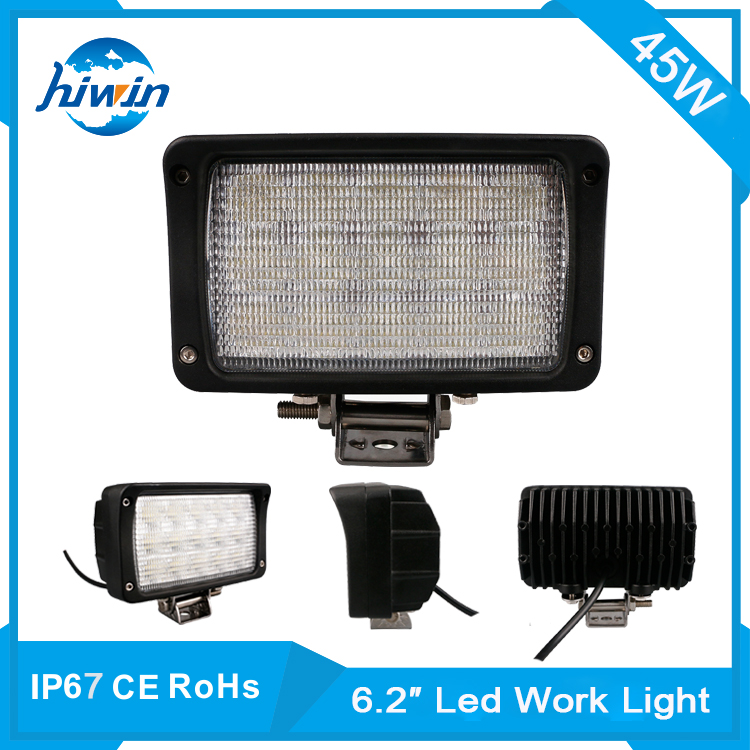 Hiwin 6.2inch 45w factory wholesale led work light for tractor truck atv off-road