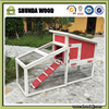 SDR22 Wooden Pet House Pink Rabbit Cage