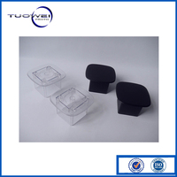 CNC machining PC/PMMA plastic 3D printing rapid prototype