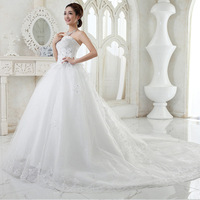 Z91713A 2016 Newest Style Satin And Tulle Appliqued Fashion Elegant Ball Gown Wedding Dresses Simple Bridal Dress