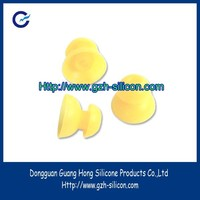 Customized silicone gel rubber matte finish earphone cap made in Guangdong