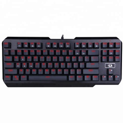 Redragon K553 USAS 87 Keys Red LED Backlit Mechanical Keyboard Gamer Keyboard