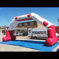 PVC&Oxford Fabric Top Design Inflatable Racing Arch/inflatable arch