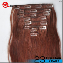 2016 Hot Selling Best Quality Wholesale Cheap rely clip in hair extensions double drawn