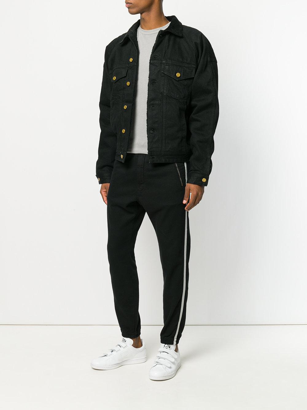 black jeans jacket