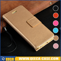 Hot sale wallet leather flip cover for iphone / for samsung case
