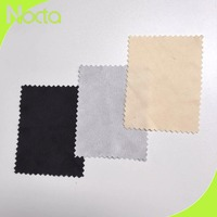 Logo embossed microfiber jewelry polishing cloths/jewelry cleaning fabric
