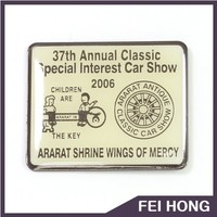 High Qulaity special interest car show pin badge