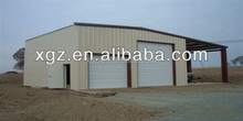 Prefabricated steel frame concrete warehouse / steel structure prefabricated sheds