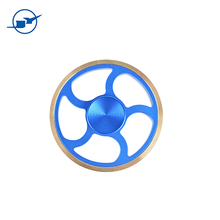 Round,Wheel, finger Spinner,Hand Spinner Metal,Autism and ADHD Relief Focus Anxiety Stress Gift Finger,Toys,Party