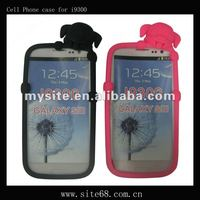 Cute Silicon Cell Phone Case Covers for Samsung i9300/Galaxy S3