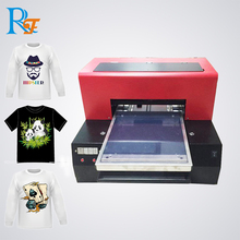 Customized Photochromic Solvent Ink T Shirt Printer With Low Price cloths printer