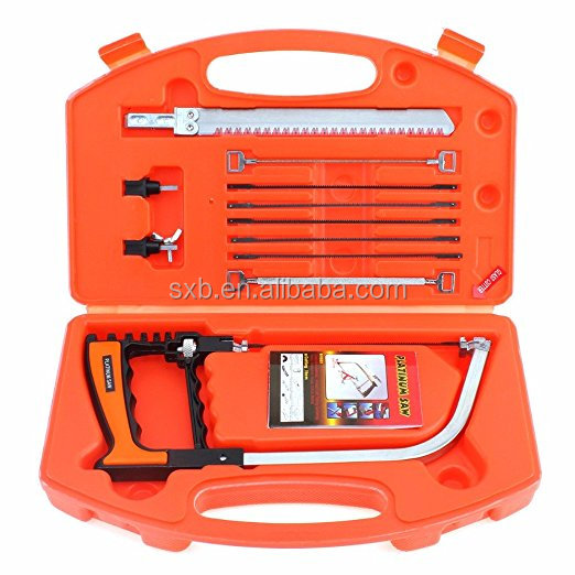 12 in 1 Multifunction Magic Hand DIY Saw set Hacksaw Kit for Cutting Wood / Metal / Glass / Plastic / Rubber