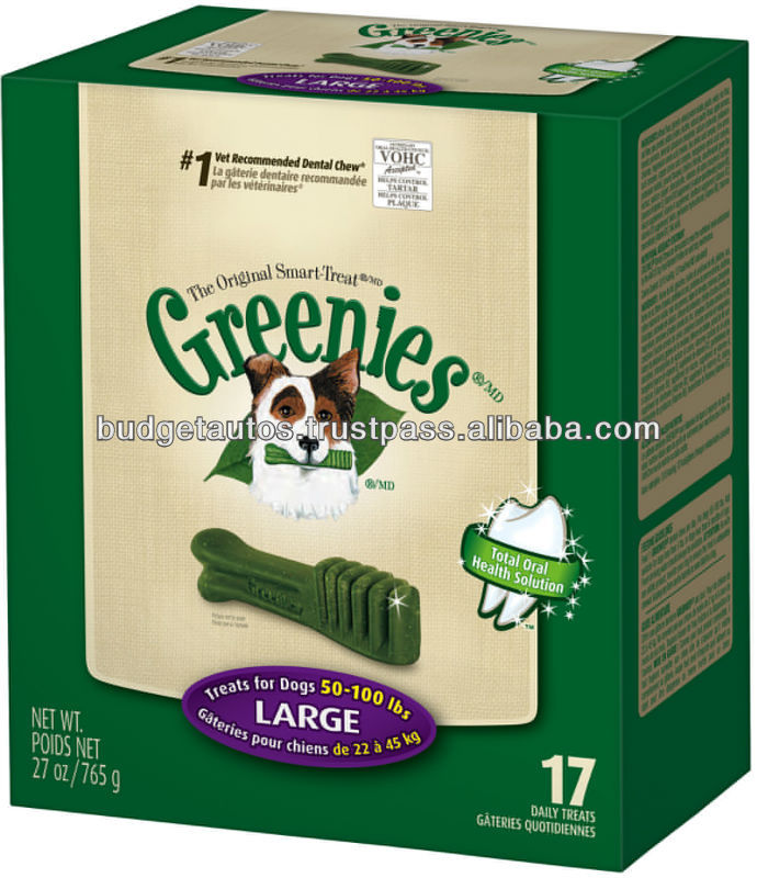 GREENIES TREATS FOR DOGS
