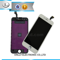 Original quality front glass for iphone 6 lcd touch screen
