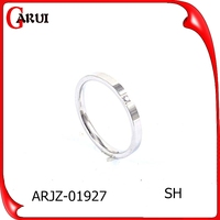 hot sale indonesia rings jewelry stainless steel blanks rings
