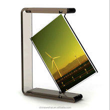 High-end Rotating Acrylic Picture Frame Sexy Photo Frame
