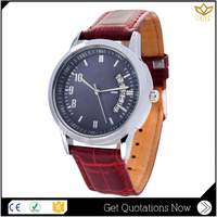 2016 Women Leather Vogue Quartz Watch Ladies Fashion Luxury Rhinestone wrist watch wholesale watch oem custom logo Y022