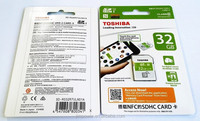 Toshiba 32GB NFC SDHC Card UHS-1 Class10