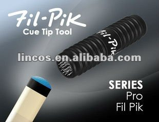 more color billiard cue tip tools