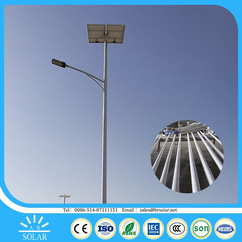 integrated price battery pole Energy Saving driveway solar spot light