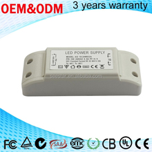 high quality 35-52vdc 20w 24w Dimming cctv led driver 480ma/ switching power supply