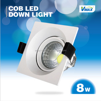2014 hot sell 8w COB LED downlight RA>80 high luminance LED spotlight led