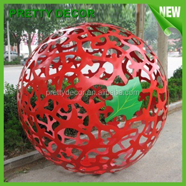 Pretty decor large decorative garden balls buy stainless