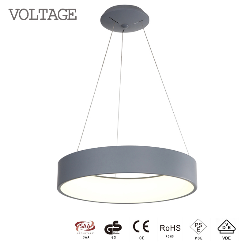 Voltage LED Light Round <strong>Modern</strong> Hanging Pendant Lighting 12353