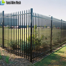 Rack able commercial ornamental Bate fence for USA market