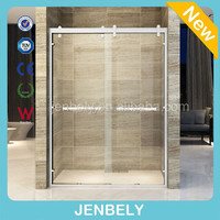High-end Double Sliding Door Shower Room Of SS Material BL-SS603